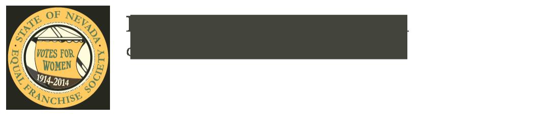 Nevada Suffrage Centennial
