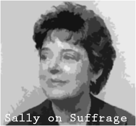 SALLY ZANJANI ON SUFFRAGE